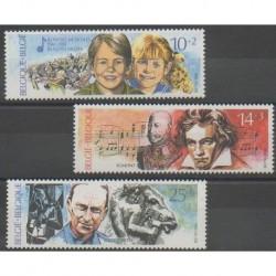 Belgium - 1990 - Nb 2387/2389 - Music