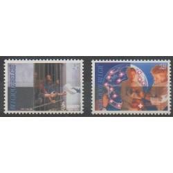 Belgium - 1991 - Nb 2422/2423 - Health