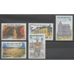 Belgium - 1991 - Nb 2410/2414 - Tourism