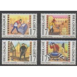 Belgique - 1997 - No 2722/2725 - Artisanat ou métiers
