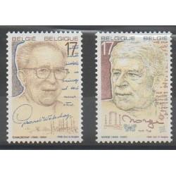Belgium - 1998 - Nb 2736/2737 - Literature