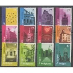 Belgium - 1998 - Nb 2763/2774 - Monuments