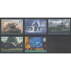 Belgium - 1999 - Nb 2809/2813 - Military history