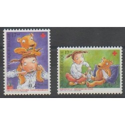 Belgium - 1999 - Nb 2850/2851 - Health