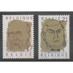 Belgium - 1999 - Nb 2838/2839 - Celebrities