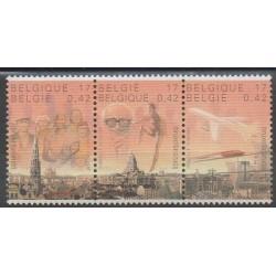 Belgium - 2000 - Nb 2881/2883 - Sights