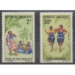 Madagascar - 1967 - Nb 443/444 - Folklore