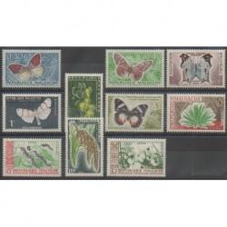 Madagascar - 1960 - No 341/350 - Insectes