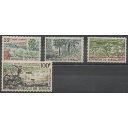 Senegal - 1965 - Nb 247/249 - PA47 - Sights