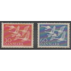 Danemark - 1956 - No 372/373