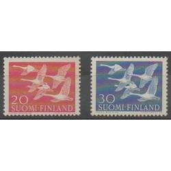 Finlande - 1956 - No 445/446