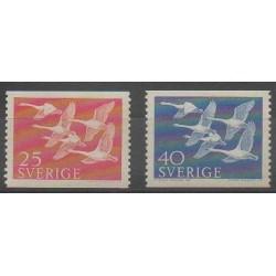 Sweden - 1956 - Nb 409/410