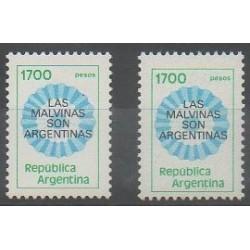 Argentine - 1982 - No 1288/1288a