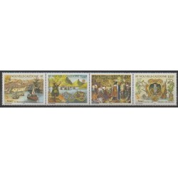 Nouvelle-Calédonie - 1998 - No 764/767 - Histoire - Philatélie