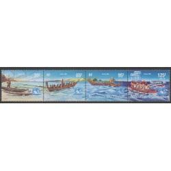 Nouvelle-Calédonie - 1996 - No 706/709 - Navigation