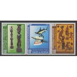 New Caledonia - 1997 - Nb 741/743 - Art