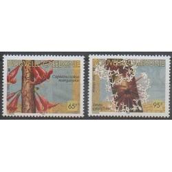 Nouvelle-Calédonie - 1996 - No 704/705 - Fleurs