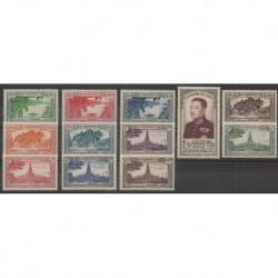 Laos - 1951 - Nb 1/12