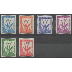 Upper Volta - 1962 - Nb T21/T26