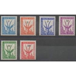 Haute-Volta - 1962 - No T21/T26