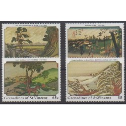 Saint Vincent (Grenadines) - 1989 - Nb 578/581 - Paintings