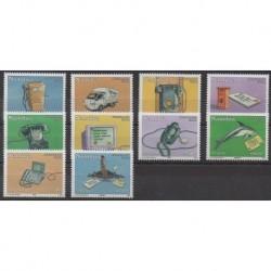 Namibie - 2002 - No 972/981 - Télécommunications - Service postal