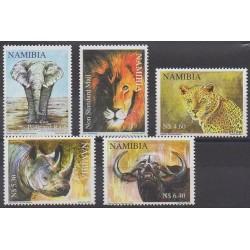 Namibie - 2011 - No 1218/1222 - Mammifères