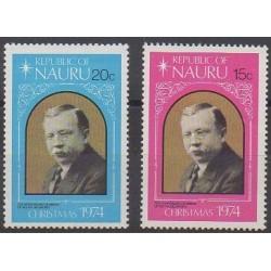 Nauru - 1974 - No 115/116 - Célébrités