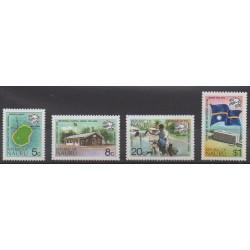 Nauru - 1974 - Nb 111/114 - Postal Service