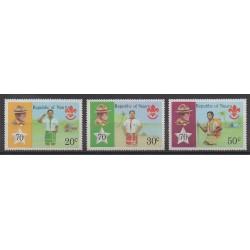 Nauru - 1978 - Nb 181/183 - Scouts