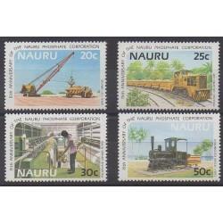 Nauru - 1985 - Nb 305/308
