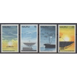 Nauru - 1977 - Nb 149/152 - Telecommunications