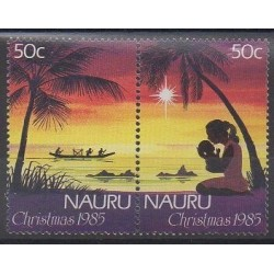 Nauru - 1985 - Nb 309/310 - Christmas