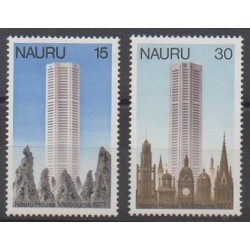 Nauru - 1977 - Nb 147/148 - Architecture
