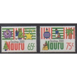 Nauru - 2000 - Nb 470/471 - Christmas