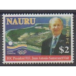 Nauru - 1998 - Nb 431 - Celebrities