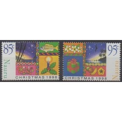 Nauru - 1998 - Nb 442/443 - Christmas