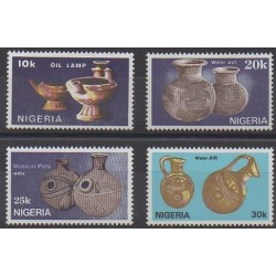 Nigeria - 1990 - Nb 553/556 - Craft