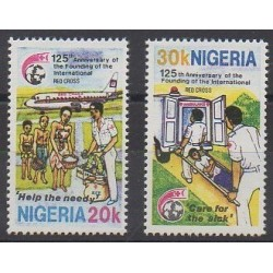 Nigeria - 1988 - Nb 519/520 - Health