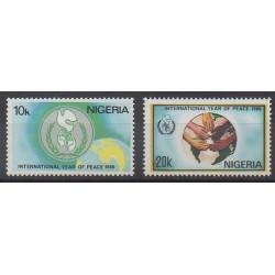 Nigeria - 1986 - Nb 484/485