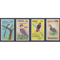 Nigeria - 1984 - Nb 454/457 - Birds
