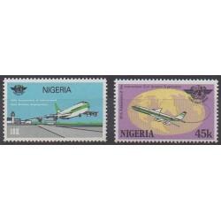 Nigeria - 1984 - Nb 457A/457B - Planes