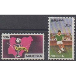Nigeria - 1980 - Nb 374/375 - Football