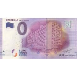 Euro banknote memory - 13 - Marseille - la cité radieuse - 2016-1