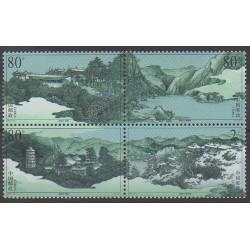 Chine - 2003 - No 4095/4098 - Sites