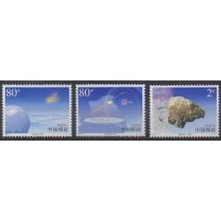 China - 2003 - Nb 4086/4088 - Astronomy