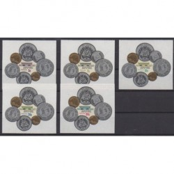 Tonga - 1973 - No 312/316 - Monnaies, billets ou médailles