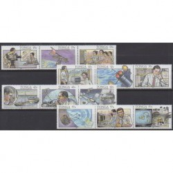 Tonga - 1991 - No 820/831 - Télécommunications