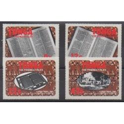 Tonga - 1981 - No 488/491 - Noël