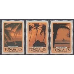 Tonga - 1984 - No 586/588 - Noël